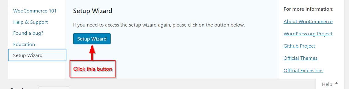 Running Setup Wizard