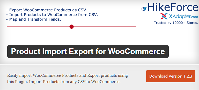 Product Import Export for WooCommerce — WordPress Plugins