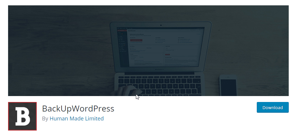 BackUpWordPress is a complete backup solution for your site