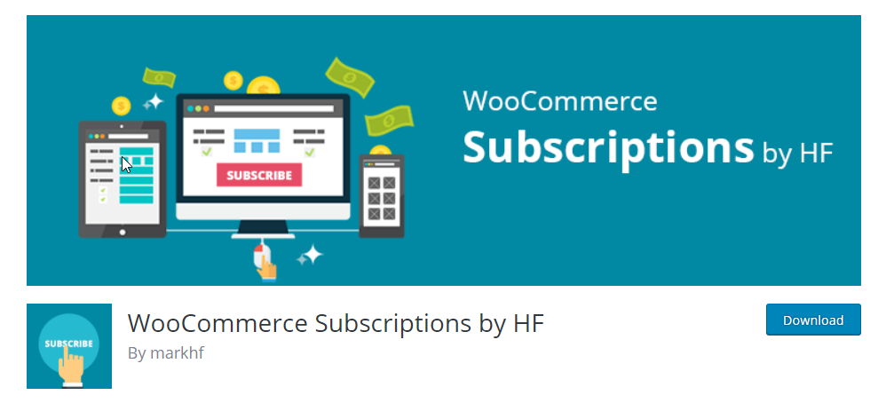 This is a great free plugin, which you can use to create simple and variable WooCommerce subscription products