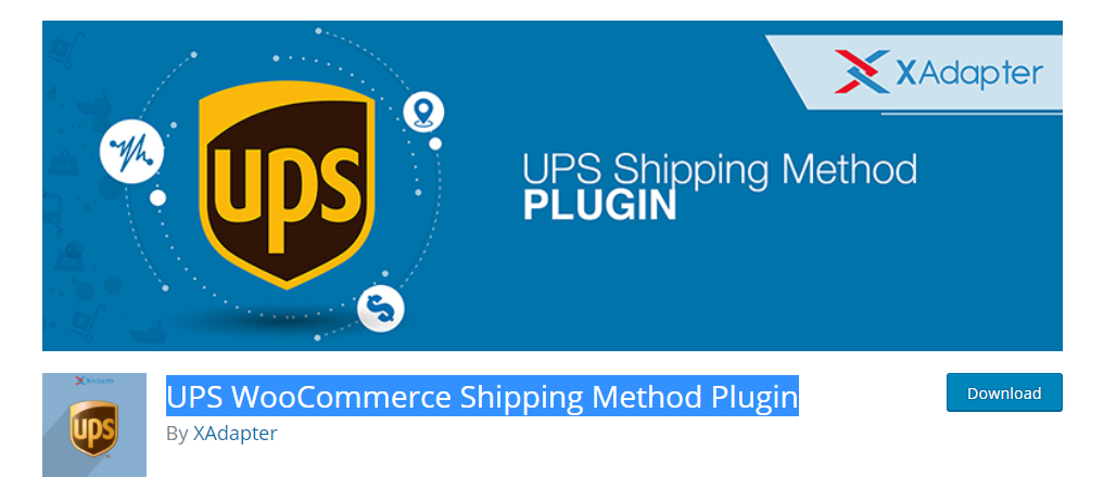 The plugin helps to display real time shipping rates by integrating with the UPS API