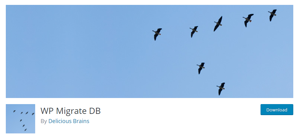 WP Migrate DB is preferred by developers as it helps in seamless database migration