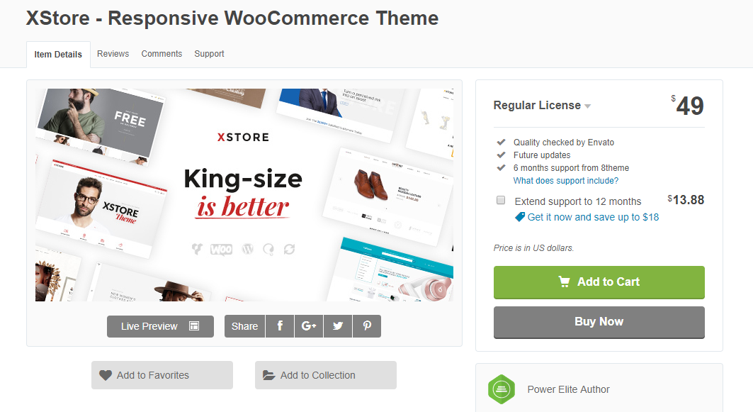 XStore simplifies the whole process of setting up a WooCommerce store
