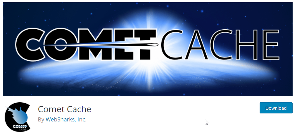 Comet Cache offers an intuitive caching process with simple, straightforward set up