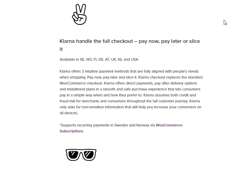 Klarna offers improved scope for conversions on your store with multiple payment strategies