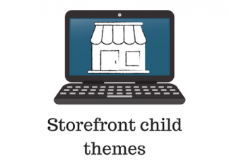 header image for WooCommerce storefront child themes