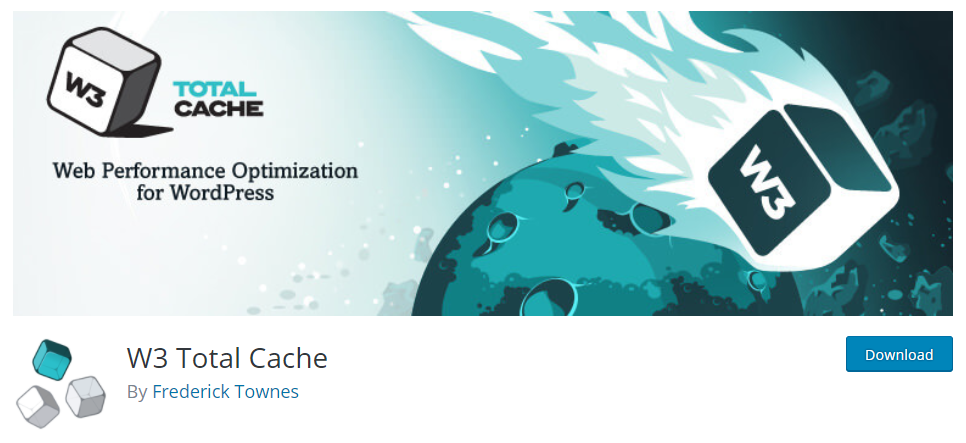 W3 Total Cache is a complete package that helps with overall aspects of your site's performance