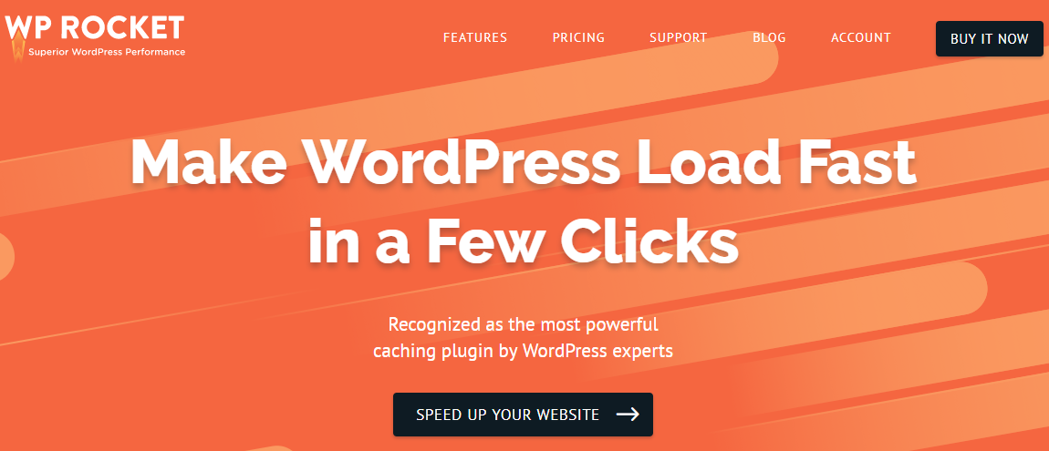Advanced features and great support sets apart WP Rocket from the rest of the lot.