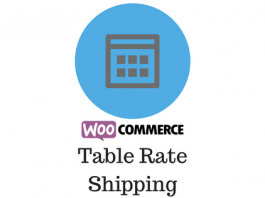 Header image for WooCommerce table rate shipping
