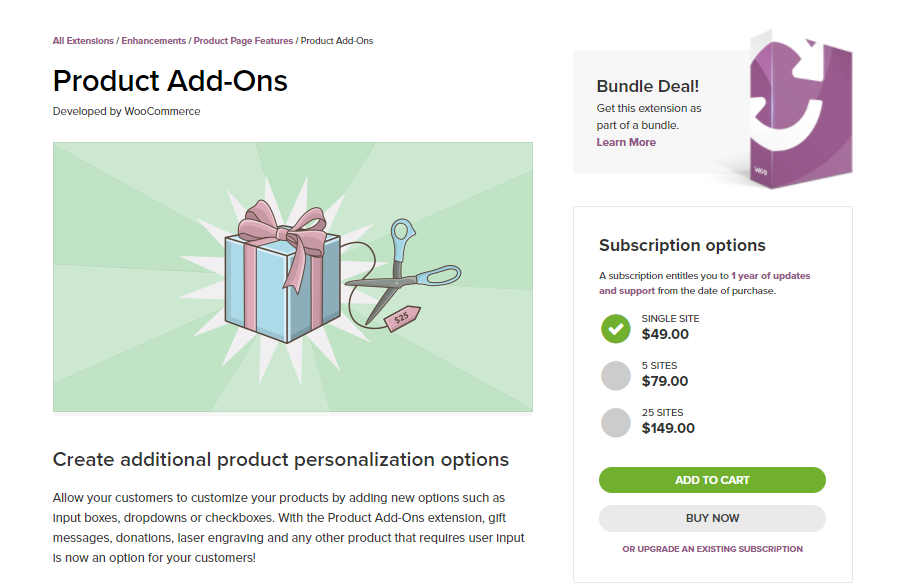 WooCommerce Product Addons to Offer Personalization - LearnWoo