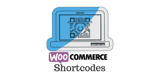 Header image for WooCommerce shortcodes