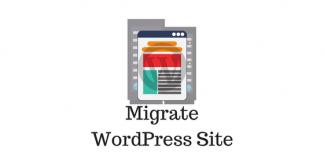 Header image for Migrate WordPress Site