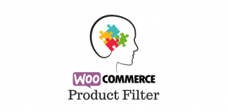 Header image for WooCommerce product filter