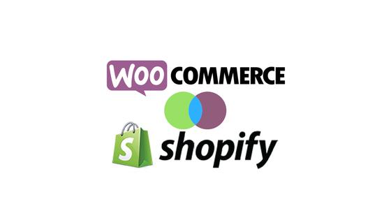 Header image for WooCommerce vs Shopify