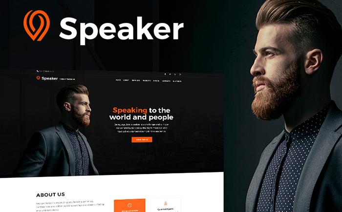 Speaker - Life Coach WordPress Theme