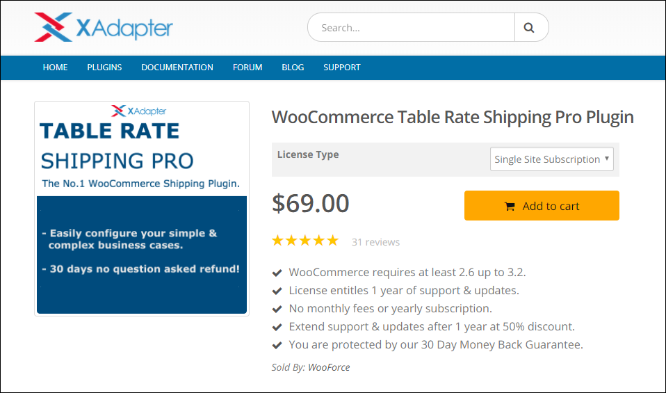 WooCommerce Free Shipping | WooCommerce Table Rate Shipping Pro Plugin