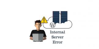 Internal server error