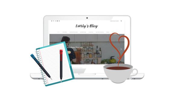 lifestyle & blogging Wordpress themes
