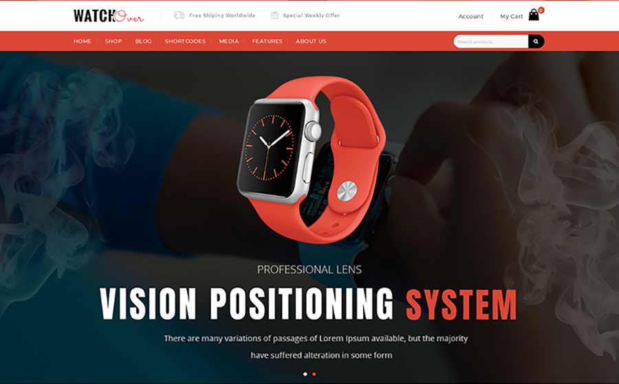 WatchOver - Single Product WooCommerce Theme