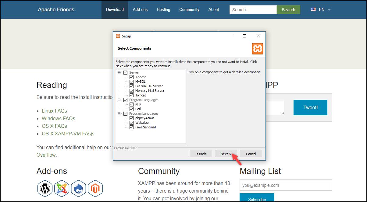 Installing WordPress | Installing XAMPP