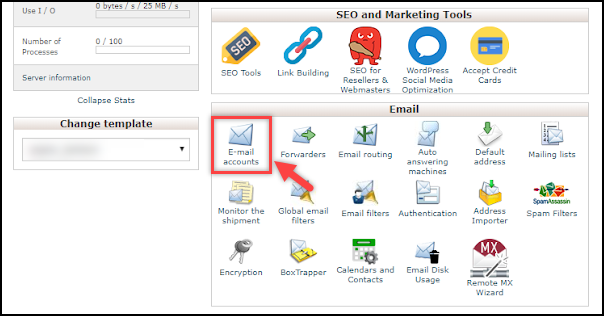Configure SMTP in WordPress | Email Accounts in cPanel