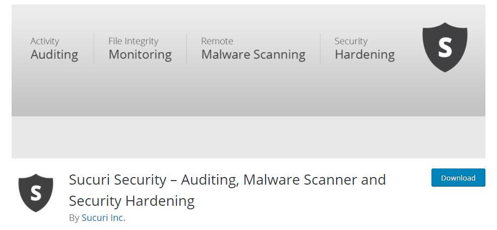 Image depicting Sucuri Security WordPress security plugin.