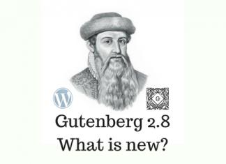 Gutenberg 2.8