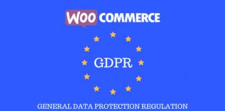 header image for WooCommerce GDPR article