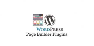 header image for wordpress page builder plugins