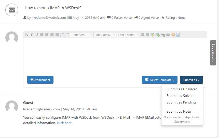 wordpress support plugins