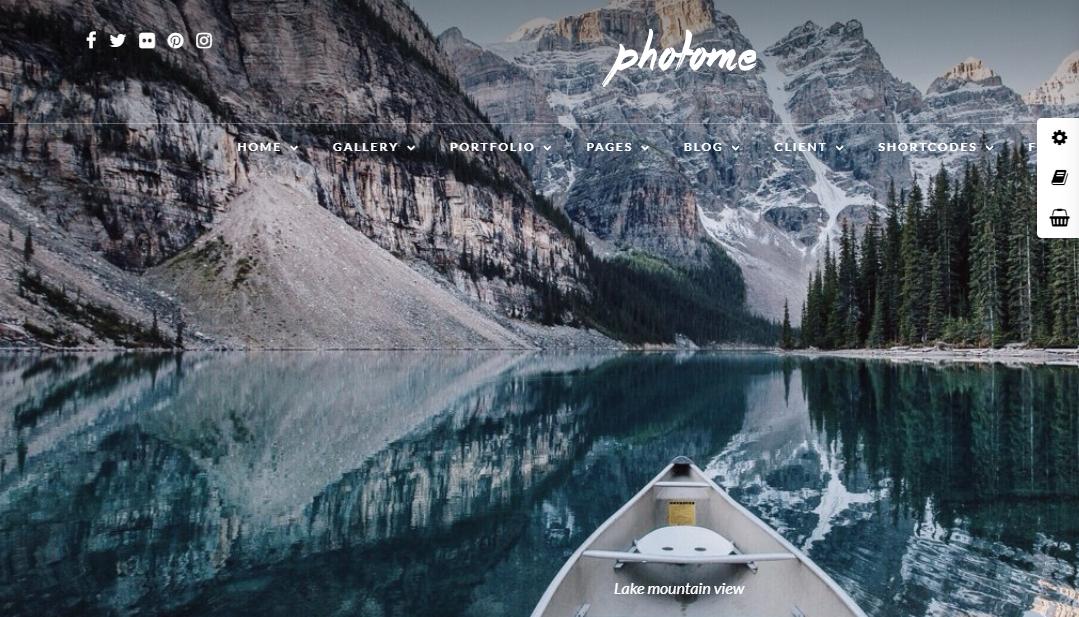 Photo Me, WordPress Photography theme