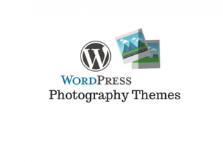 Header image for WordPress photography themes