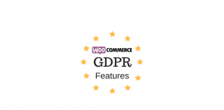 Header image for WooCommerce GDPR Features article