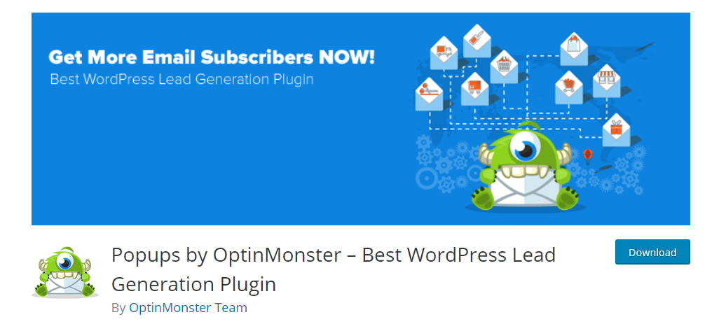 screenshot of optimonk plugin to help with WooCommerce Lead Generation