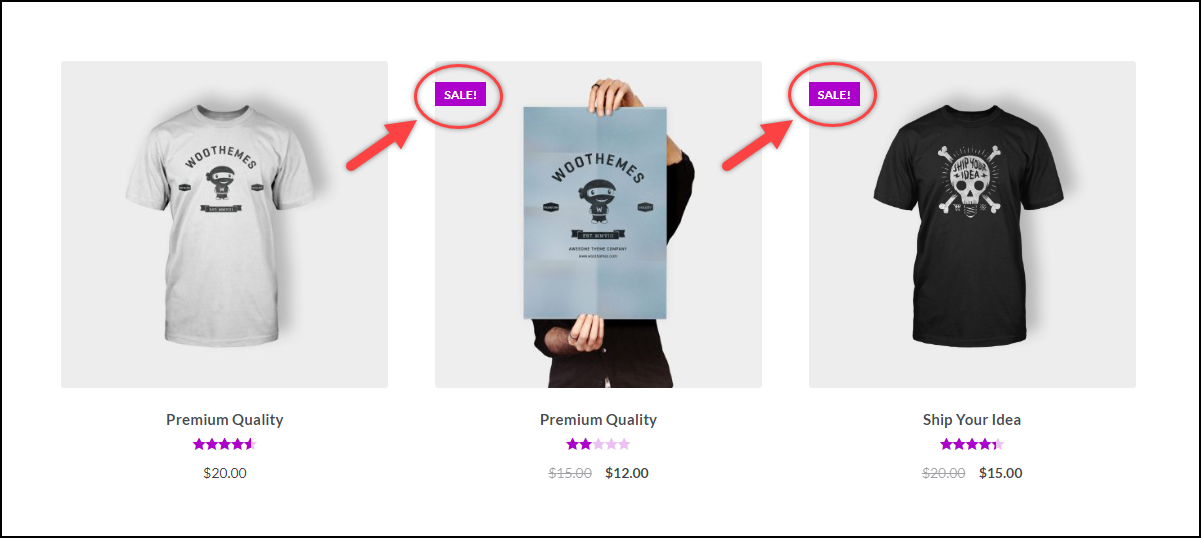 Updating Code snippets WordPress WooCommerce | Sale Flash is Visible
